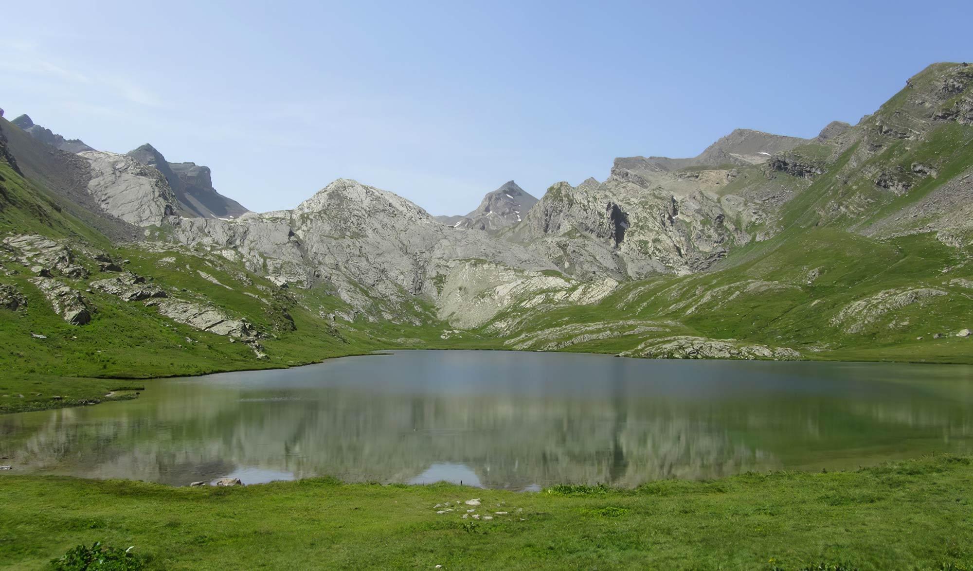 Lac du Lauzanier (2284m)