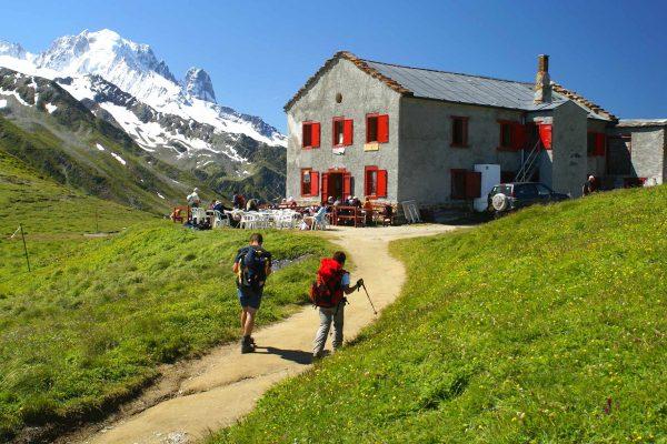 refuge massif du Mont-Blanc
