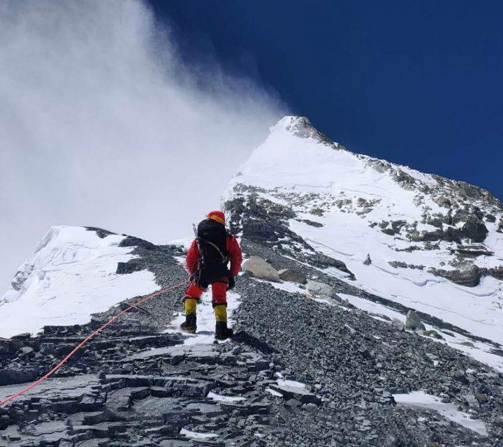 Expédition chinoise sur l'Everest 2020