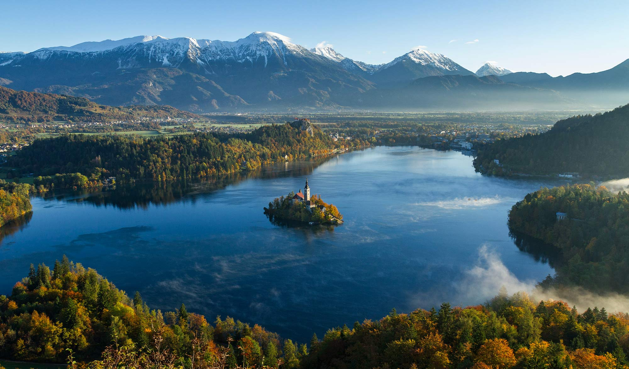 Lac Bled Slovénie