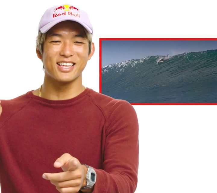 Kanoa Igarashi commente des films de surf