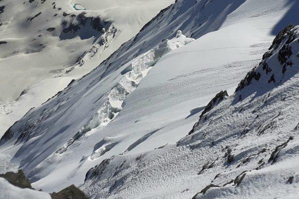 Séracs en face Nord de la Grande Casse, Vanoise