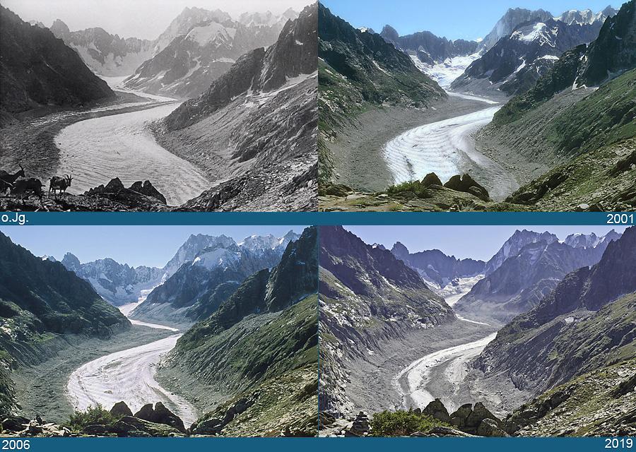 Mer de Glace, massif du Mont-Blanc