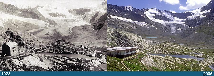 Glacier des Evettes, Mont-Cenis