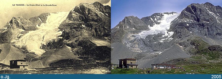 Glacier de la Grande Casse, massif de la Vanoise