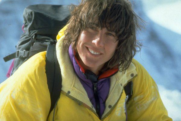 Catherine Destivelle, solo dans l'Eiger