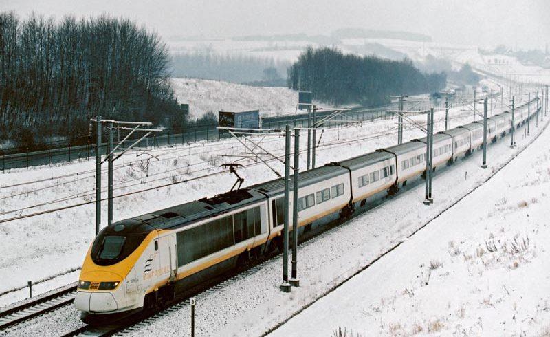 Eurostar in Snow