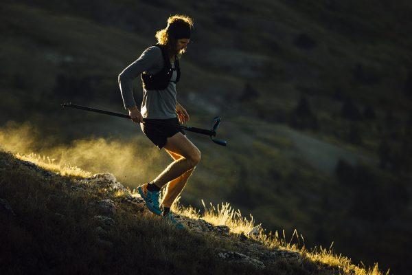 Joe Grant, trail runner minimaliste