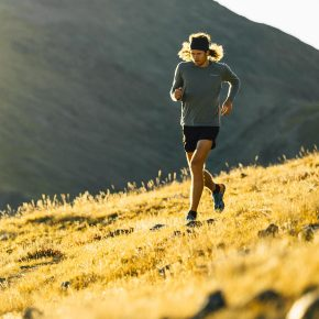 Joe Grant, trail runner minimaliste