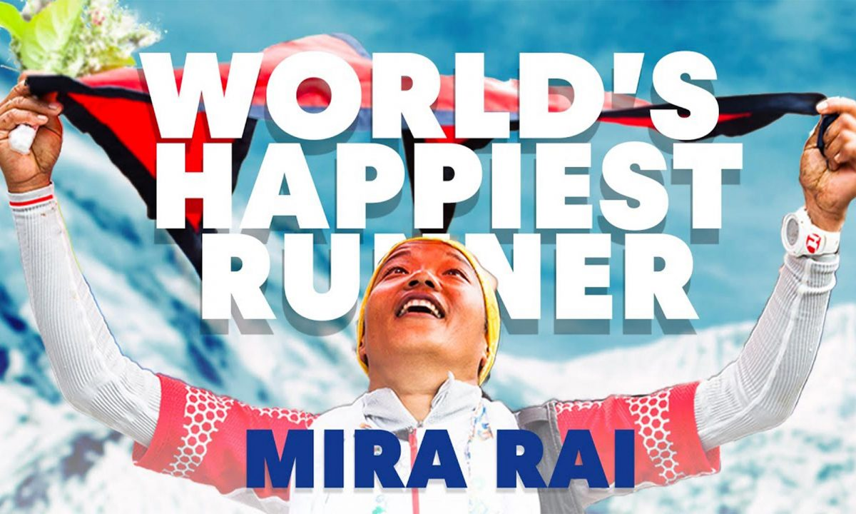 The world's happiest runner
