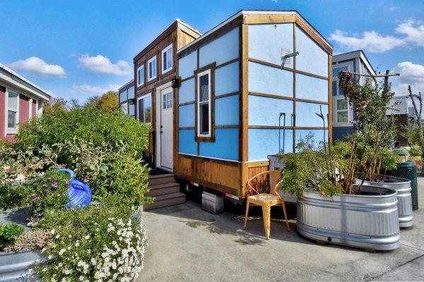 Village de Tiny Houses pour les sans-abris