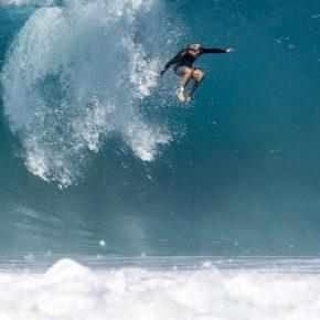 Chute en surf