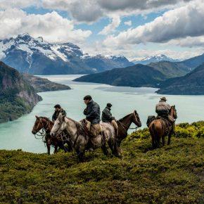 Gauchos, cowboys de Patagonie