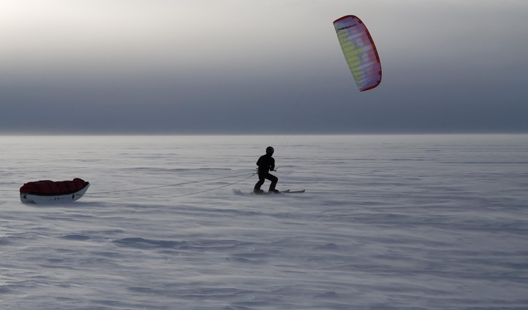Expédition Matthieu Tordeur au Groenland
