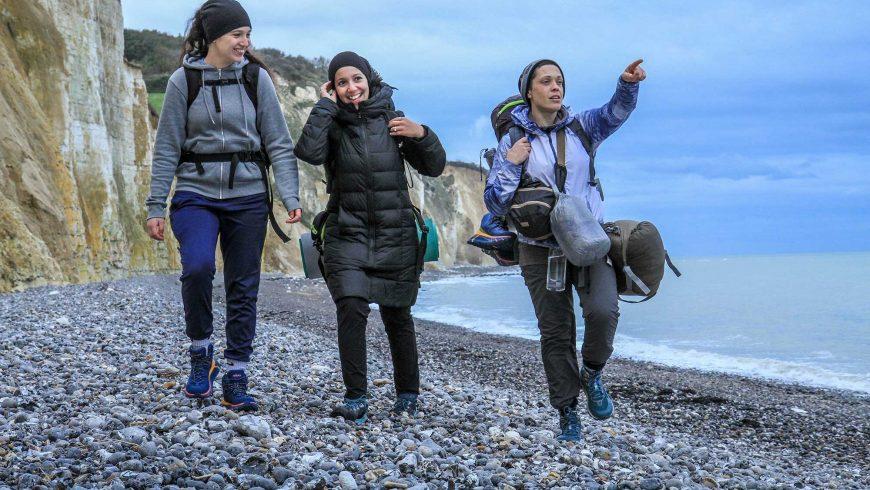 GR21 : Trek sur la côte d'Albâtre - association APART