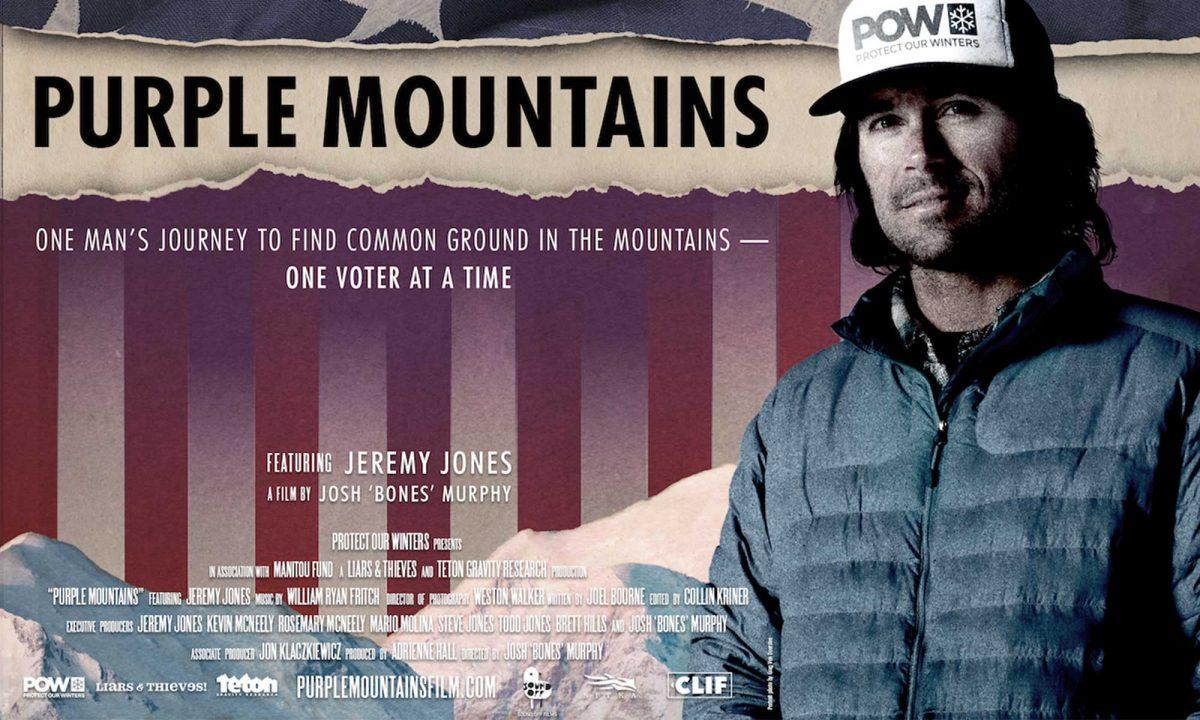 Purple Mountain - Jeremy Jones