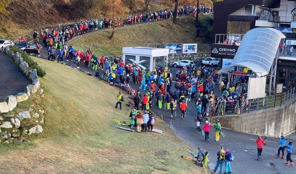Toutes les stations de ski italiennes fermées pour lutter contre la pandémie. Cervinia