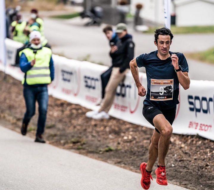 1er course de route de Kilian Jornet