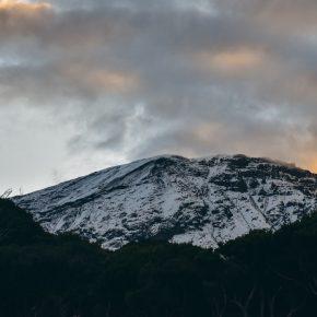 le Kilimandjaro est en feu