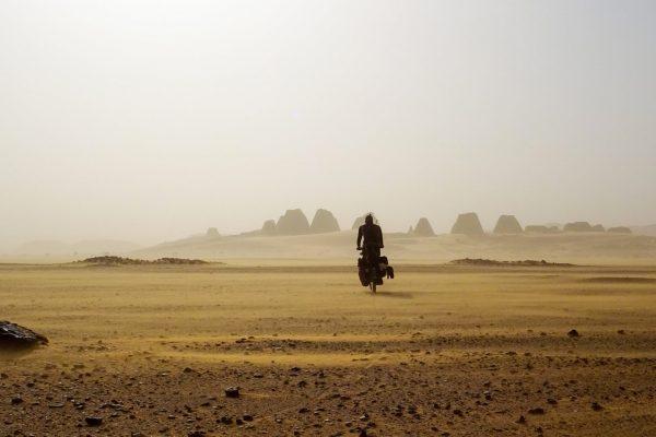 Anselm Pahnke : traversée de l'Afrique à vélo