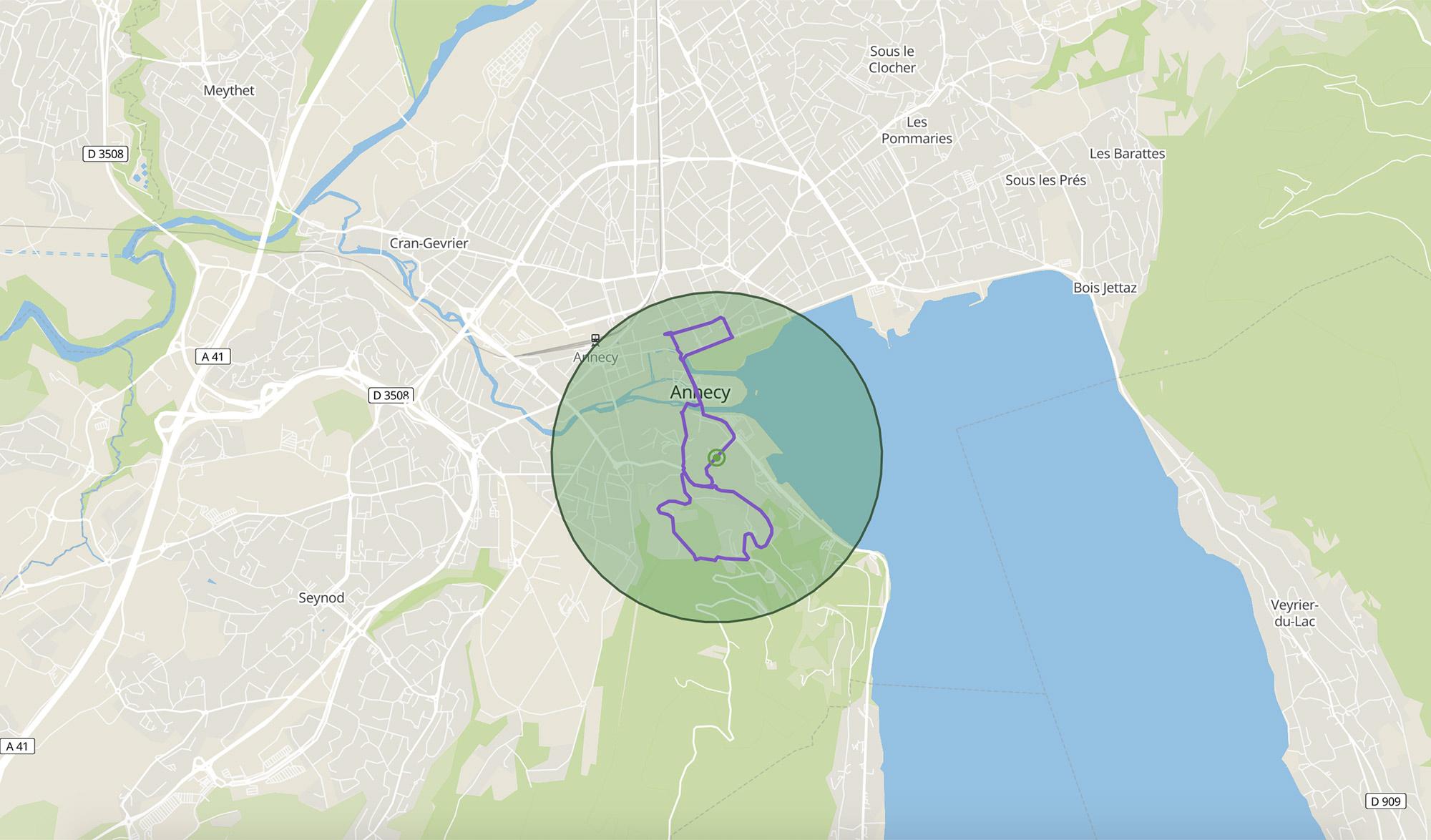 Géovélo : Trouvez une balade à vélo près de chez vous