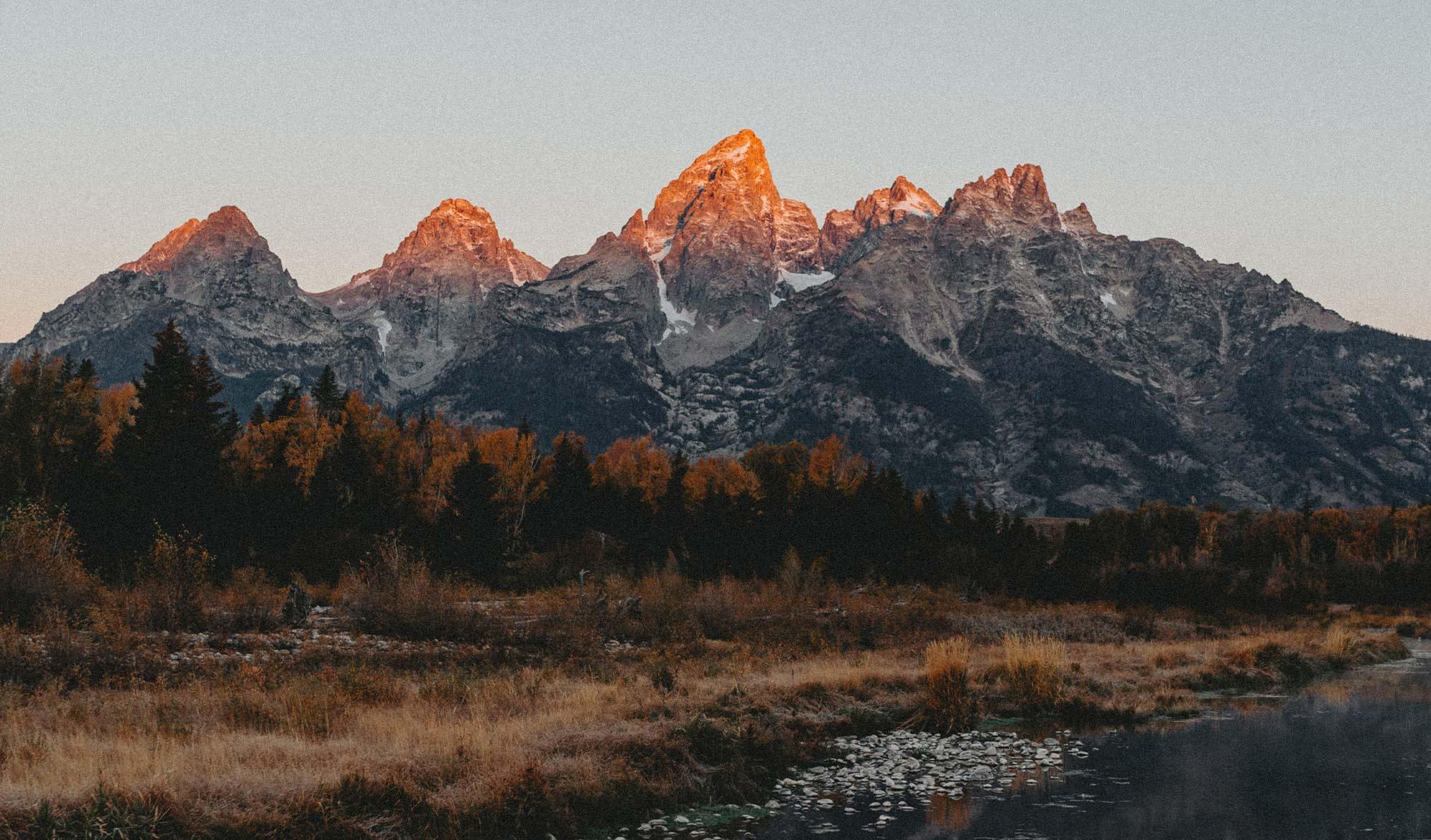 Parc National du Grand Teton, Wyoming