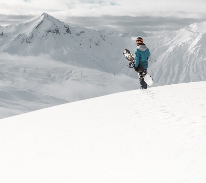 La station de de ski des Ménuires