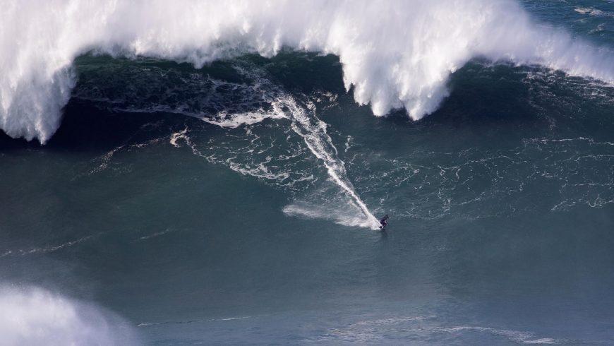 Surf à Nazaré Octobre 2020