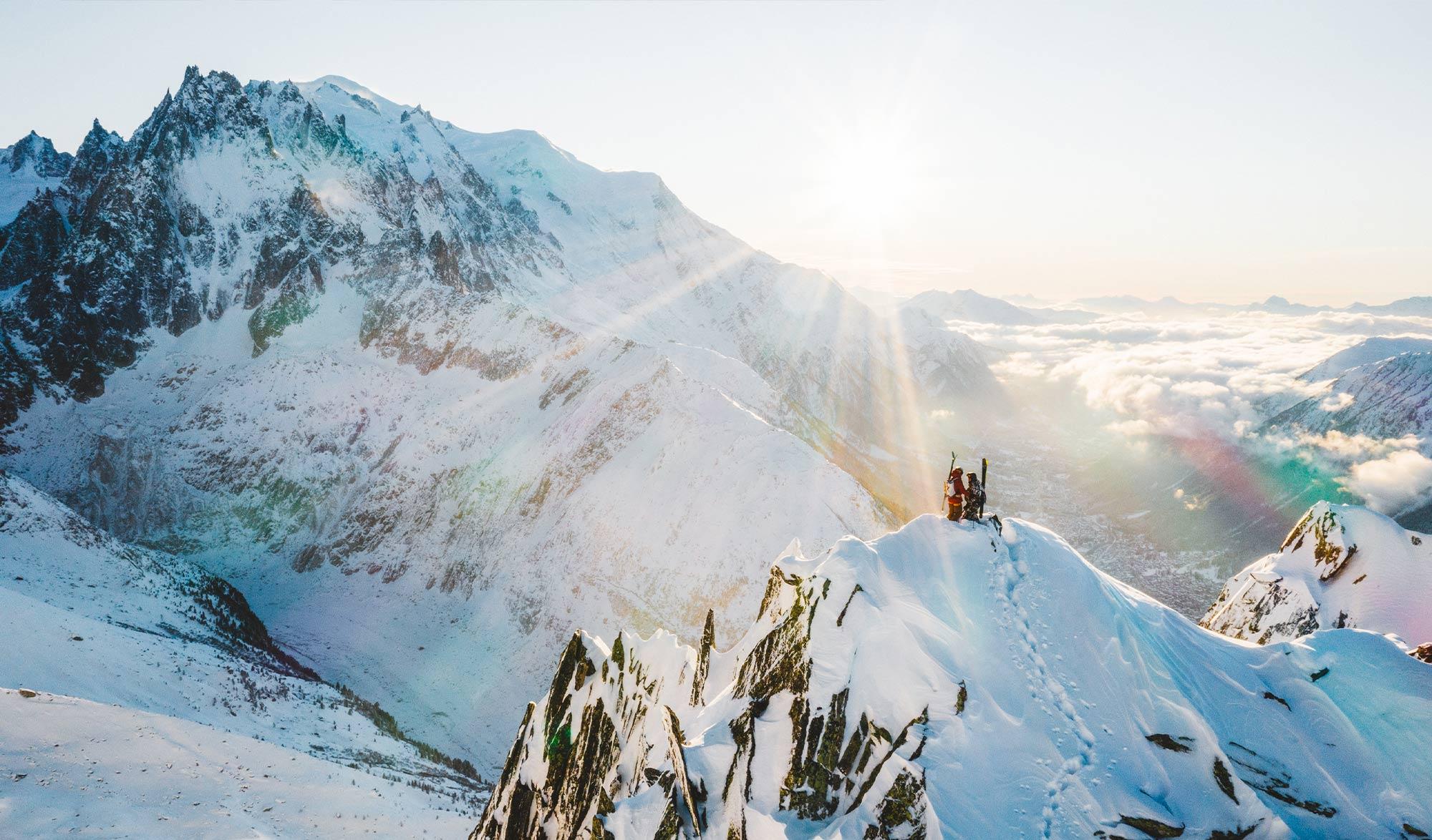 Vivian Bruchez, ski de pente raide