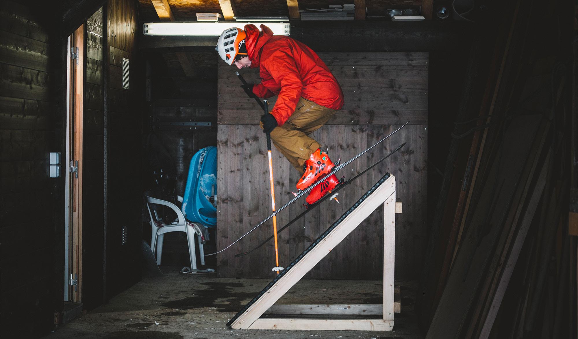 Vivian Bruchez : tutos ski de pente raide
