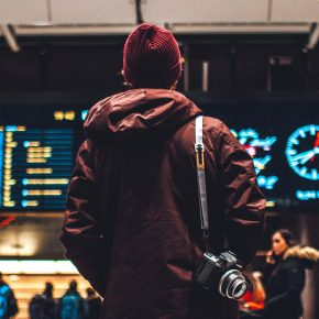 Gare zone des départs