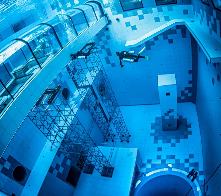 Deepspot, la piscine la plus profonde au monde