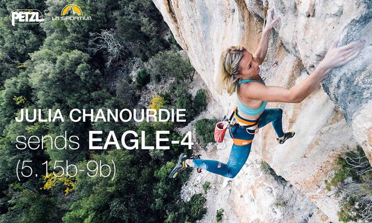 Julia Chanourdie dans Eagle-4