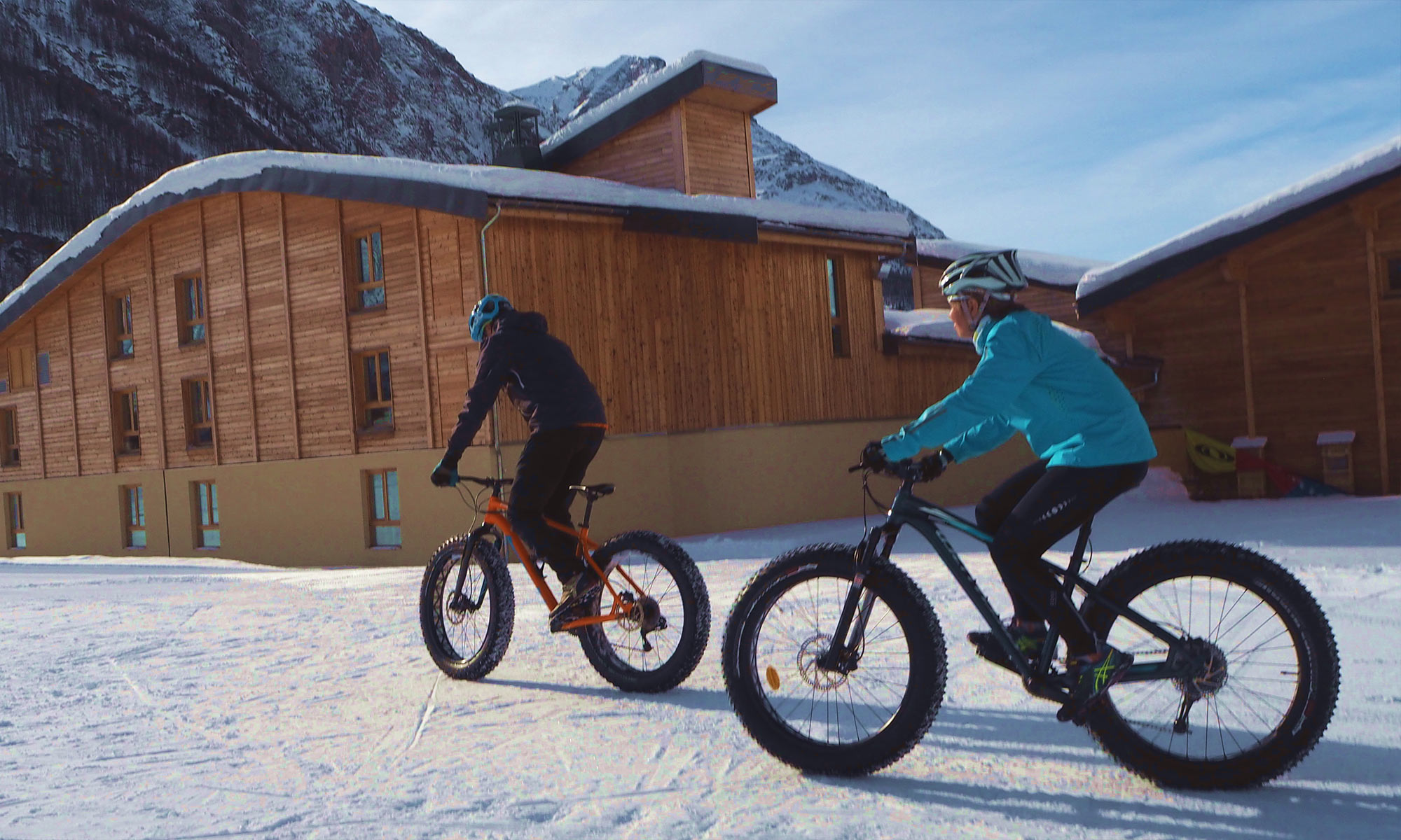 Haute-Maurienne Vanoise : fat bike