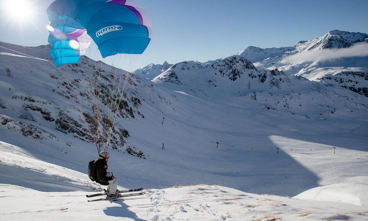 Haute-Maurienne Vanoise : speed riding
