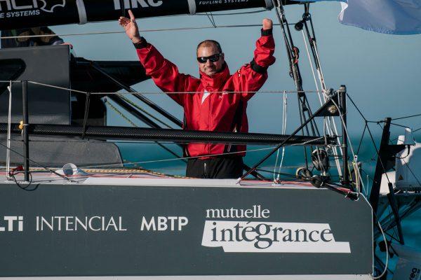 Damien Seguin au Vendée Globe