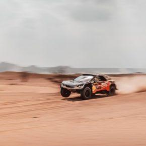 Mike Horn au rallye Dakar