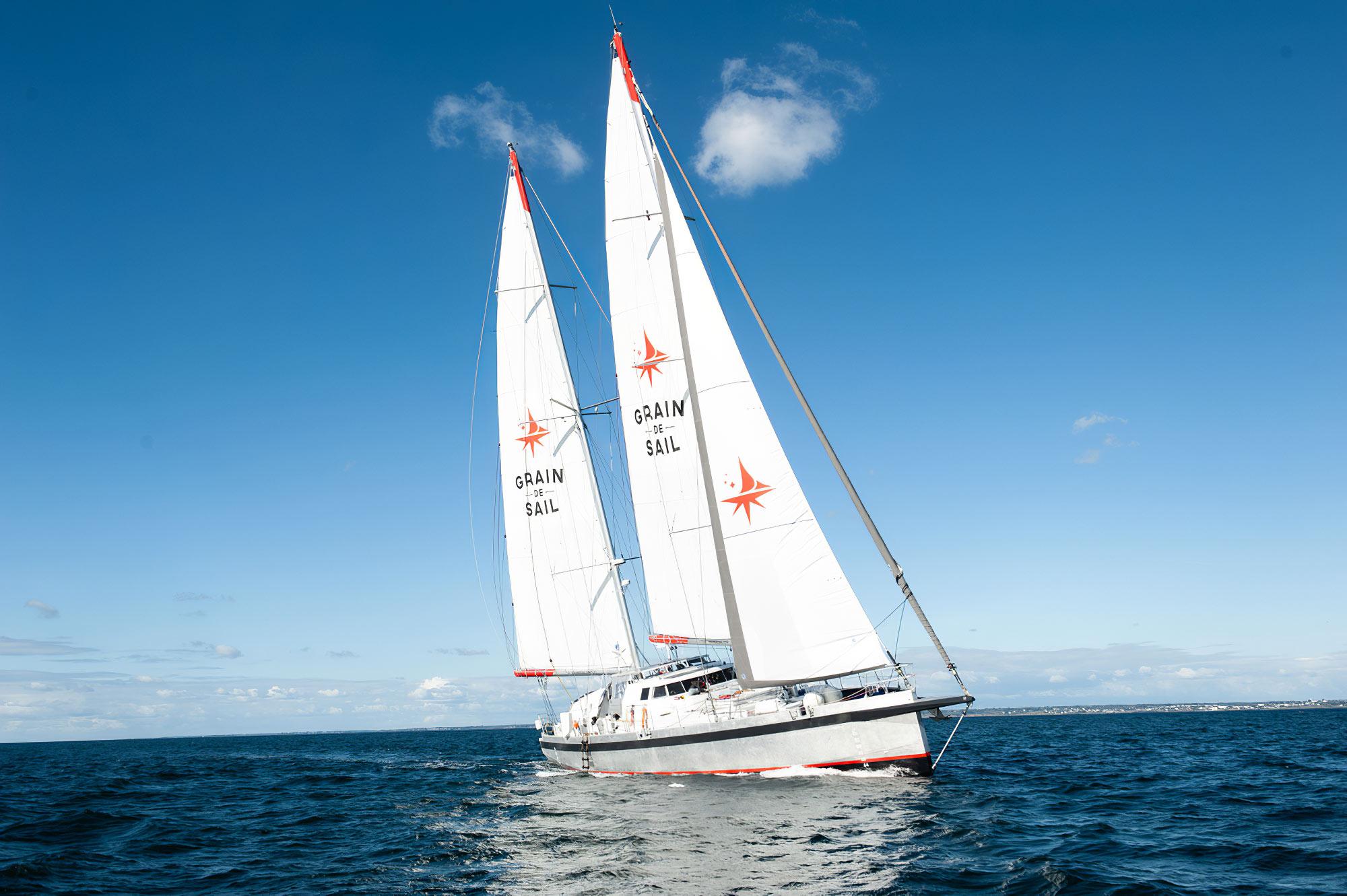Voilier cargo Grain de Sail