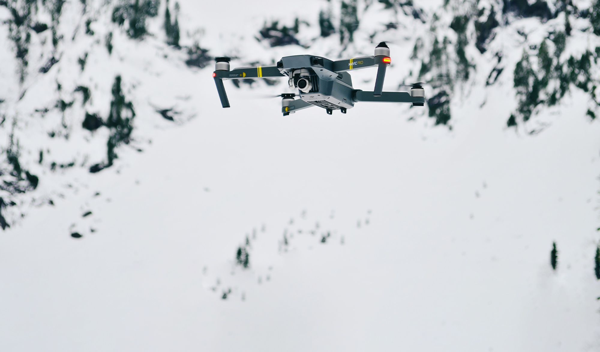 Drone pour sauvetage en avalanche