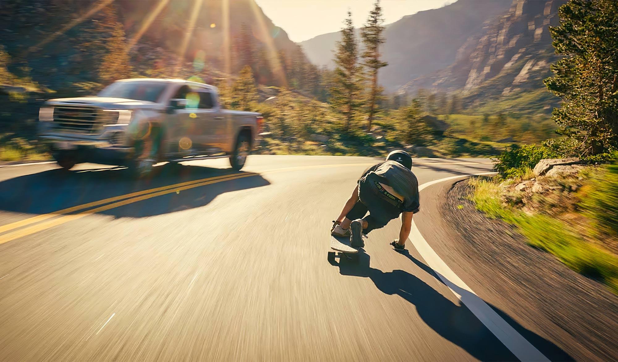 ONE SHOT : Josh Neuman's Alpine Descent