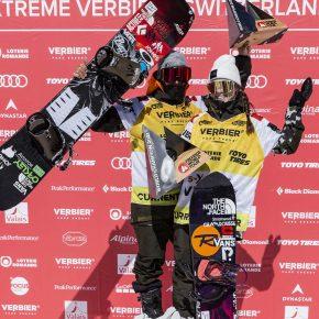 Victor de le Rue et Marion Haerty Champion du monde de freeride 2021