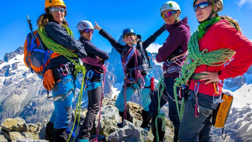 Les accordées : l'alpinisme au féminin
