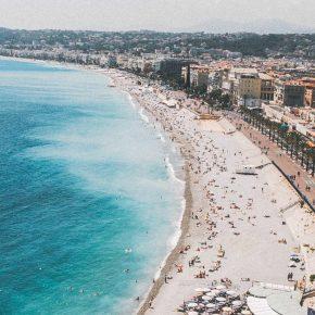Vue arienne de Nice