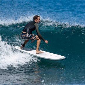 Olaian surfboard