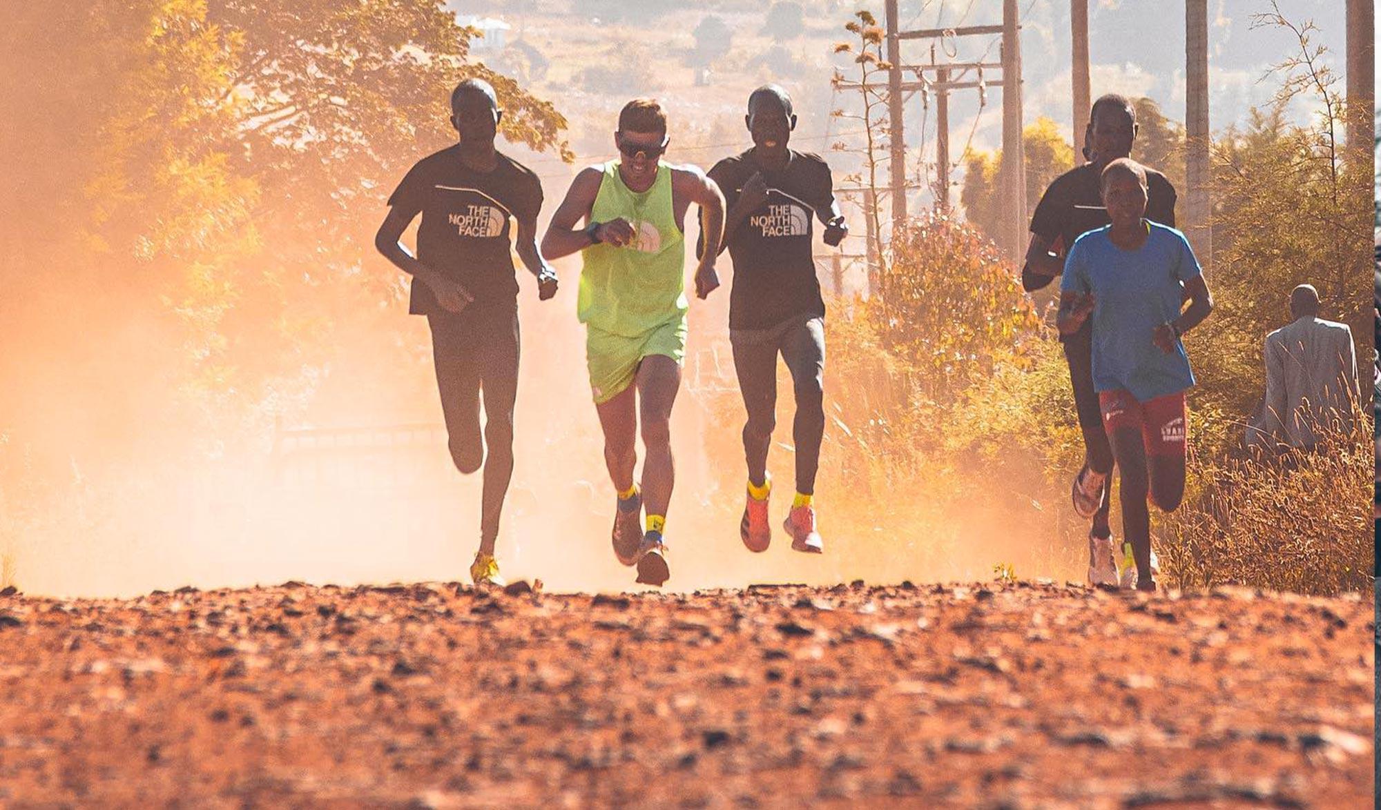 Paul Capell s'entraîne au Kenya avec Eliud Kipchoge