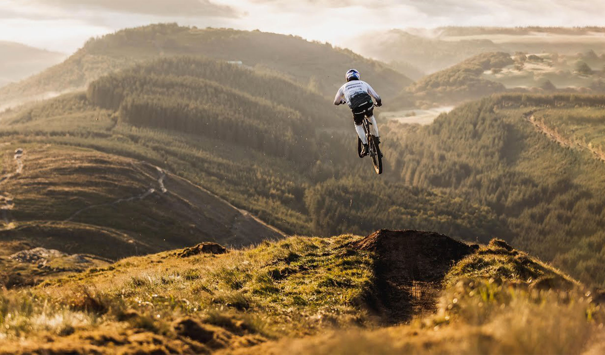 Gee Atheron ride The Ridgeline