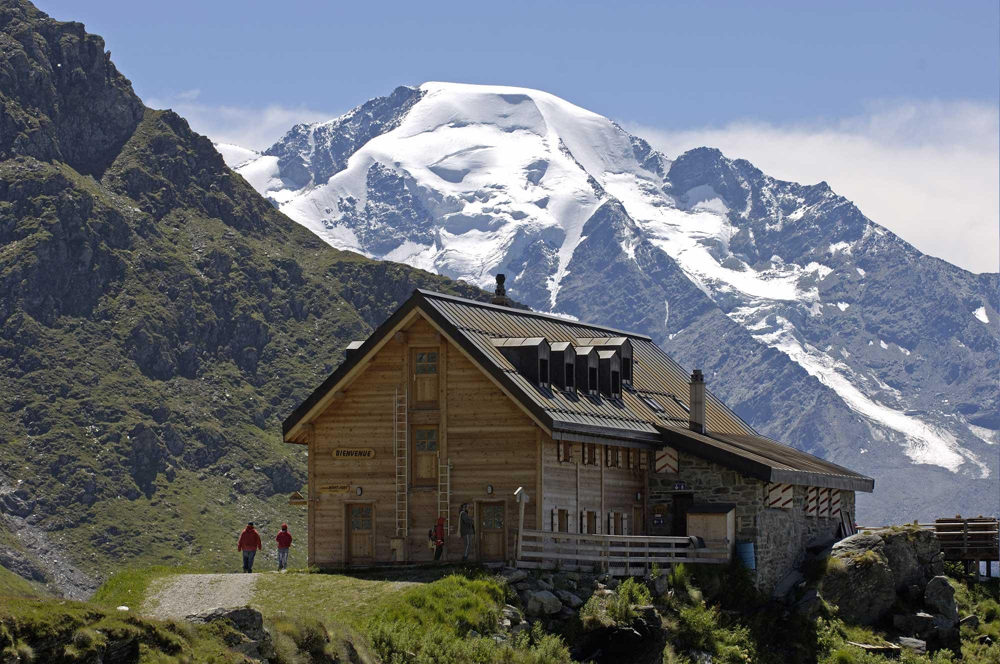 La Cabane de Mont Fort à Verbier