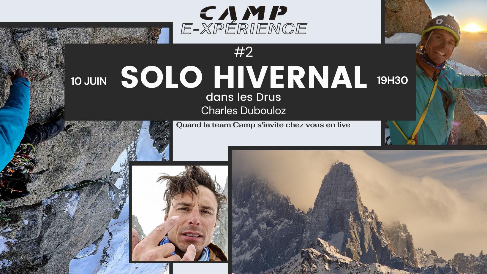 Camp E-Experience #1 Pente Raide avec Pierre Tardive et Charles Dubouloz