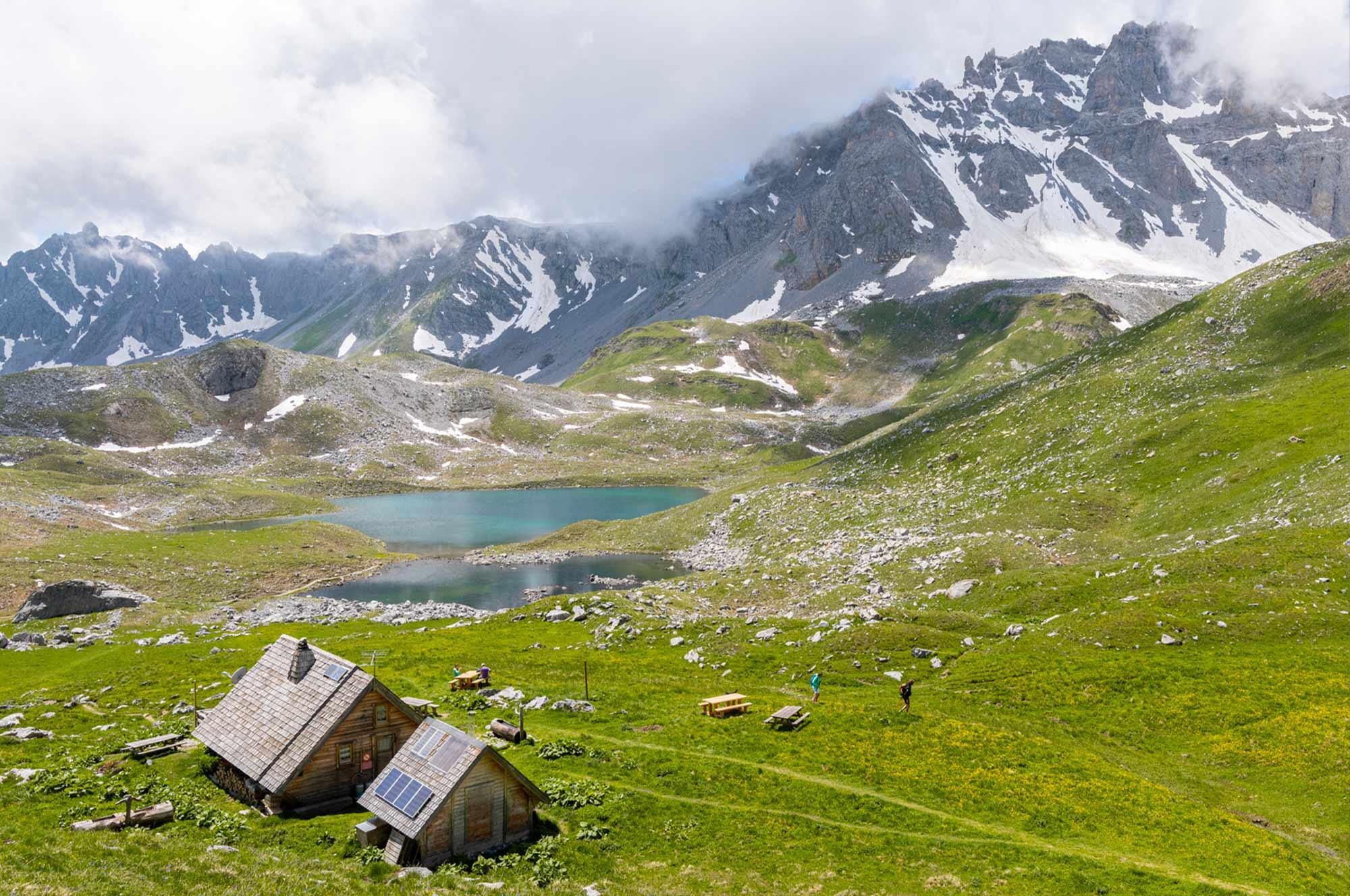 Refuge des Lacs Merlet à Courchevel