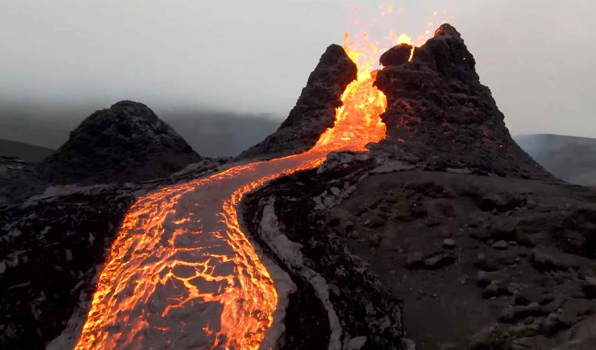 Eruption Fagradalsfjall Islande